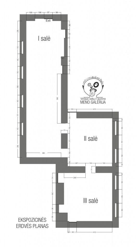Galerijos planas