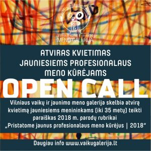 Open call internetui mazesnis